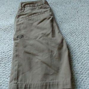 Boy's size 26 Fox shorts